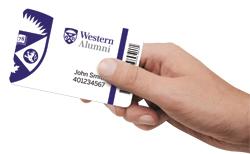 Western Alumni Card