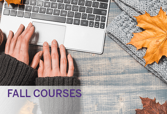ONLINE Fall courses